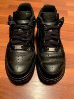 Nike Air Force 1 '14 Men Black Basketball Shoes Size 8