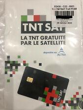 ✅ CARTE TNTSAT SATELLITE ASTRA 19.2E VALABLE 4 ANS NEUVE LIVRAISON GRATUITE