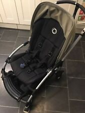 Bugaboo Bee Plus buggy, with khaki hood plus accessories, good used condition