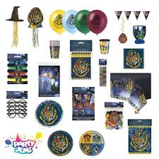 Harry Potter Hogwarts Magical Wizard Birthday Party Tableware Supplies