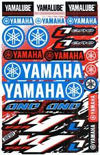 1SHEET NEW YAMAHA MOTOCROSS MOTORCYCLE ATV ENDURO BIKE RACING DECAL STICKER SK88