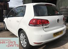 2010 VW GOLF MK6 1.6TDI BLUEMOTION CAY LUB WHITE B4/B9A BREAKING FOR SPARES