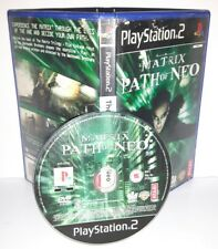 MATRIX THE PATH OF NEO - Playstation 2 Ps2 Play Station Bambini Gioco Game