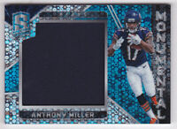 2018 Spectra Monumental Memorabilia Neon Blue #24 Anthony Miller Jersey 57/99