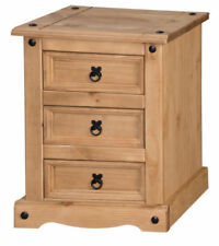 Pine Rustic 66cm-70cm Height Bedside Tables & Cabinets
