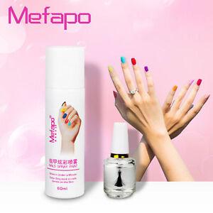 2017 Spray Perfect Nail Polish new 12 Colors