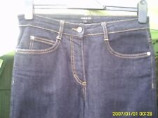 JAEGER SIZE 8 WOMENS CROPPED JEANS  W26/L25