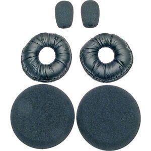 Blue Parrot VXI 6pc Foam Kit Ear Pads Cushions B250-XT B150 Headset Parrott Mic