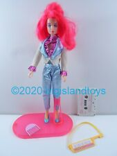 "Jem and the Holograms Hasbro 1986 12.5"" Doll Kimber w/ Cassette Tape"