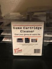 1Up Game Cartridge Cleaner Nes Snes N64 Sega Works w many Retro Systems