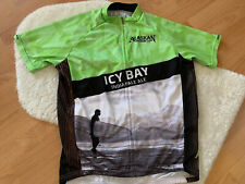 Primal Alaskan Brewing Co Icy Bay India Pale Ale Cycling Jersey Surf LG Full Zip
