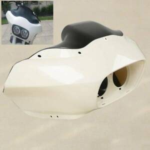 Unpainted Headlight Inner Outer Fairing For Harley Road Glide FLTR 1998-2013 CF