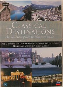 Classical Destinations (DVD, 2 Discs + Booklet)   Very Good Condition