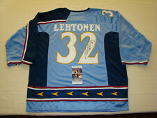 New ListingKari Lehtonen Signed Atlanta Thrashers Jersey Jsa #Ii14303 Hockey Nhl