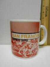 STARBUCKS 1999 SAN FRANCISCO COFFEE MUG  - COLLAGE SERIES ICON MUG
