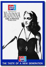 "Madonna Like A Prayer World Tour Fridge Magnet Size 2.5"" x 3.5"""