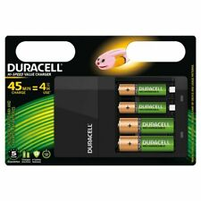 Duracell Battery Charger Hi-Speed 45 min + AA and AAA Rechargeable Battery CEF14