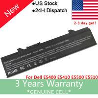 Battery for Dell Latitude E5400 E5500 E5410 E5510 KM742 PX644H F