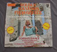 """Vinilo LP 12"""" 33 rpm GOLDEN SOUVENIRS FROM GREECE various artists"""