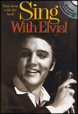 Sing With Elvis Guitar Chord & Melody Songbook with Sing-Along Backing Tracks CD