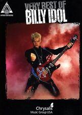 BILLY IDOL - STEVE STEVENS GUITAR TAB MUSIC SONGBOOK