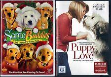 Santa Buddies (DVD, 2009) & Puppy Love (DVD, 2013) - 2 Children & Family DVDs