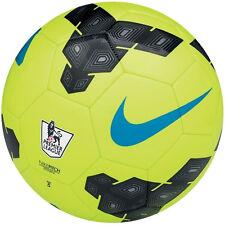 NIKE T90 Total 90 LEAGUE EPL  Soccer Ball  2013 NEW Volt / Black / Blue Size 4