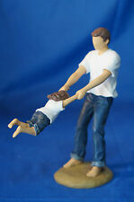 Forever in Blue Jeans Swing Me Figurine Dad Swinging a Child 18417
