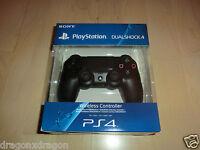 Sony PS4 DUALSHOCK 4 Jet Black Wireless Controller, OVP&NEU, 2J.Garantie