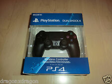 Sony PS4 DUALSHOCK 4 Jet Black Wireless Controller, OVP&NEU, 2J.Garantie