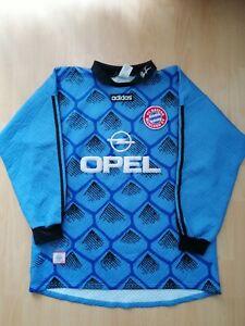 Bayern München Vintage Goalkeeper Football Jersey Trikot XL Kahn Old Torwart