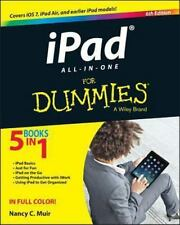 iPad All-in-One For Dummies, Muir, Nancy C., Good Condition, Book