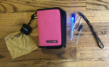 Nintendo DS Pink Travel Case Switch N Carry Bag w/ Stylus & 3 Hard Cases