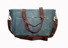 Canvas Bag Mens Military vintage Travel Hiking Satchel School Shoulder Messenger