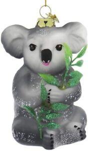 Noble Gems Glass Koala Polonaise Christmas  Ornament