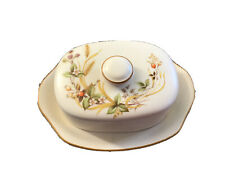 More details for vintage marks & spencer harvest 1418 butter dish