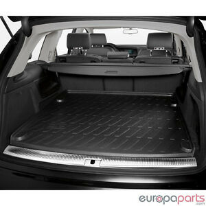 2007 to 2015 Audi Q7 Genuine Factory Trunk Cargo Area All Season Rubber Liner
