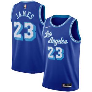 Los Angeles Lakers No.23 James Jerseys Breathable Embroidered Basketball Swingman Jerseys Color : Black B, Size : S Shelfin Men/'s Women Jerseys