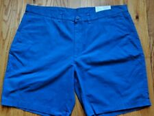 NEW Organic Patagonia Mens  Shorts Size 40 Blue Casual Summer Spring Clothes