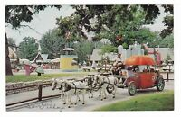 1950s SANTA CRUZ CA SANTA'S VILLAGE PUMKIN COACH SKYFOREST POSTCARD CALIFORNIA