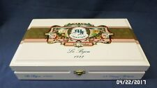 1021D Garcia/Garcia My Father WHITE Cigar Box Le Bijou 1922 GRAND ROBUSTO A+ CON