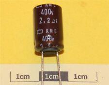 Nippon Chemi-con KME Condensador electrolítico Radial 2.2µF 400V 105 ° C (pk de 4)