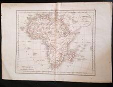 Carte générale de L'Afrique divisée en ses principaux états