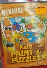 Kid's paint & puzzels