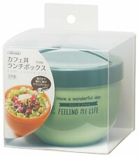 Japanese Bento Bowl FINE STYLE Cafe 560ml PDN6 Skater Daily Lunch Time Box Green