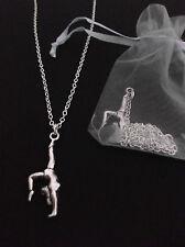 Gymnast Necklace, Gymnastics/Gym/Dance/Sport, Party Bag/Filler, Birthday Gift