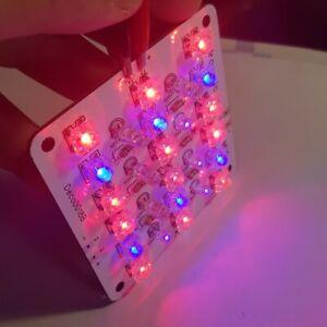 Lampada led 12V pannello +infrarossi e ultravioletti coltivazione piante indoor