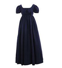 Women Regency Ball Dress Vintage Ball Dress High Waistline Tea Gown Dress