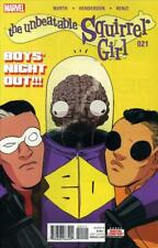 Unbeatable Squirrel Girl, The (2nd Series) #21 VF/NM; Marvel | save on shipping