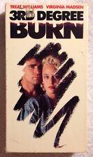 3rd Degree Burn (Prev. Viewed VHS, 1992) Treat Williams Virginia Madsen RARE